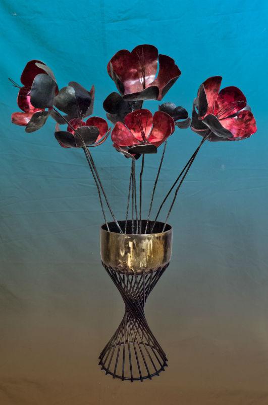 4._Steel_Flower_Vase